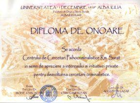 Diploma de onoare