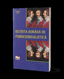 Revista Română de Psihocriminalistică - Anuarul 2010